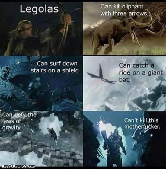 Come one Legolas