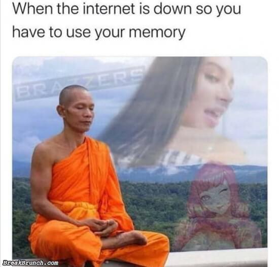 When internet is down