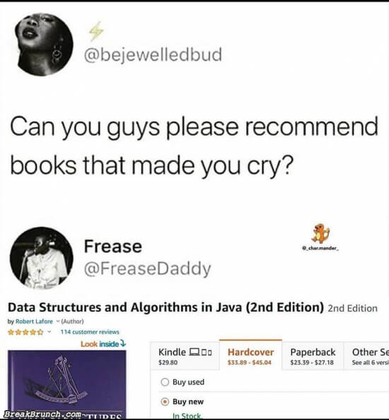 Recommend books that made you