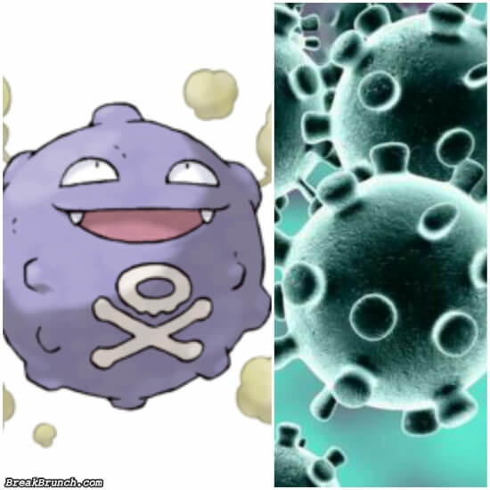 Now you know why crononavirus looks familiar