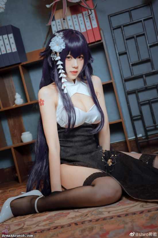 Azur Lane Azuma cosplay by shiro (9 pics)
