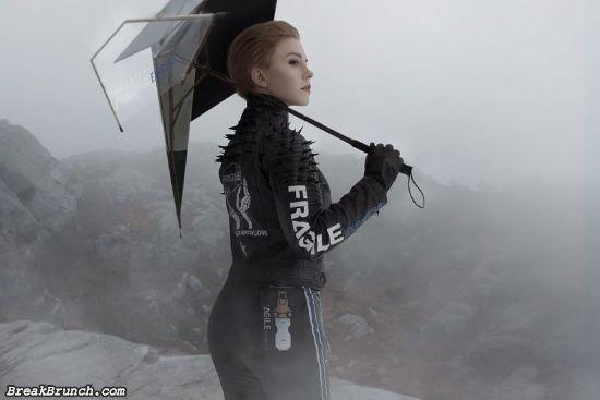 Death Stranding Fragile cosplay by Felidae (8 pics)