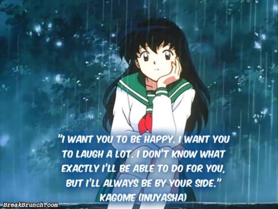 I will always be by your side – Kagome