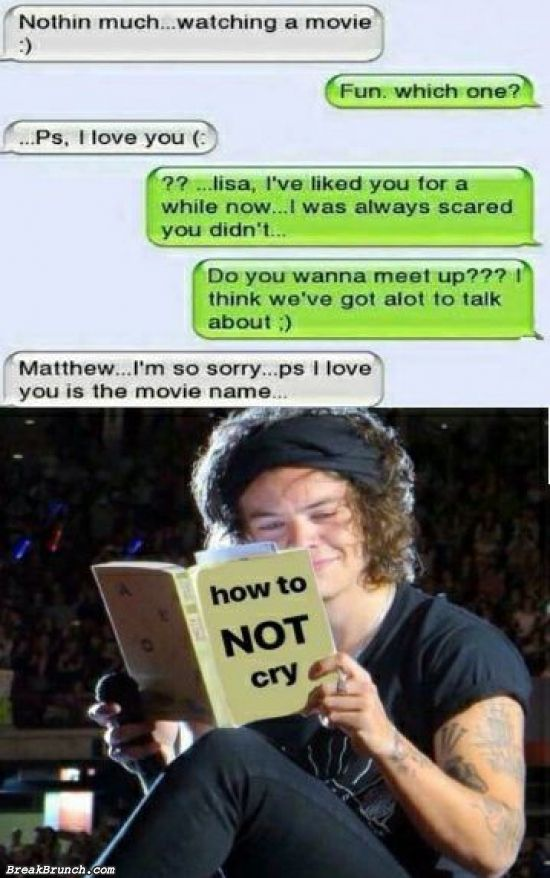 How to not cry