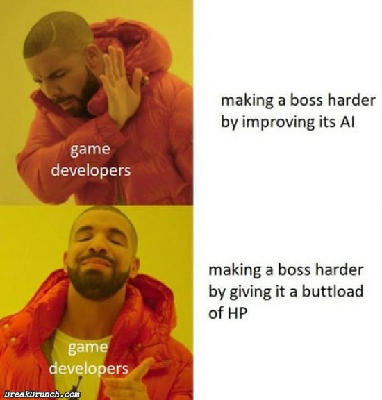 How to make boss fight harder