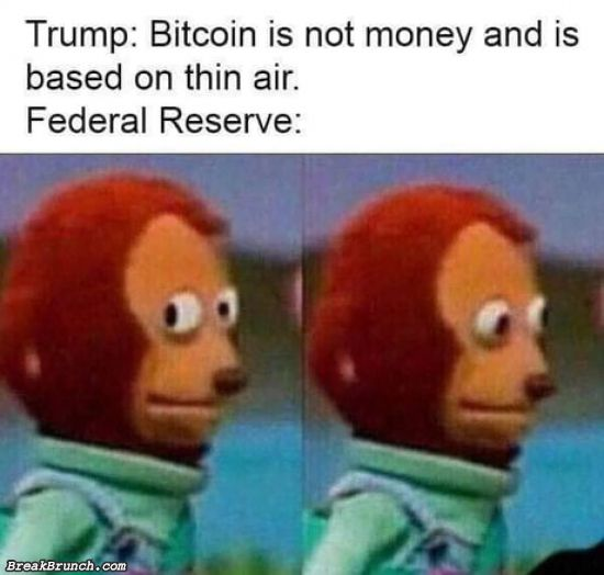 Bitcoin is not real money