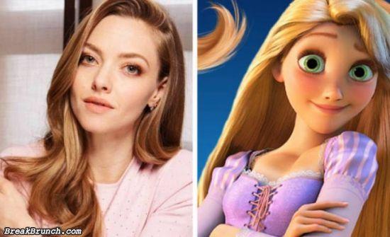 14 celebrities that look like Disney characters