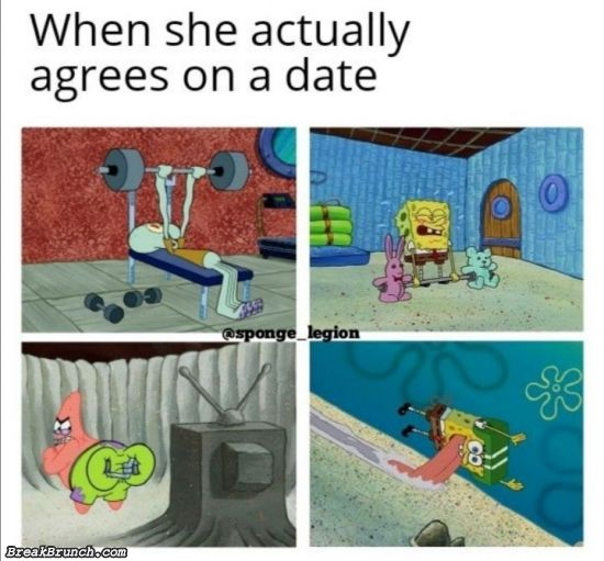 When she agreed on a date