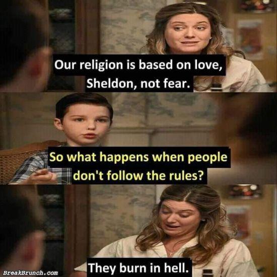 Religion based on love