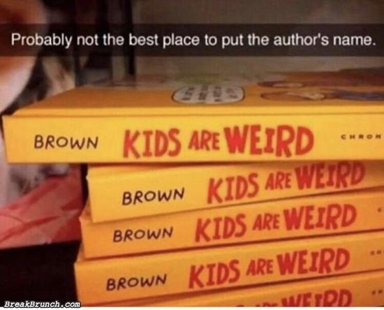 Inappropriate book title