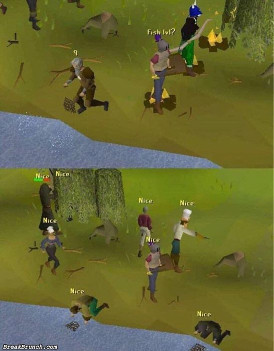 The good old time with Runescape