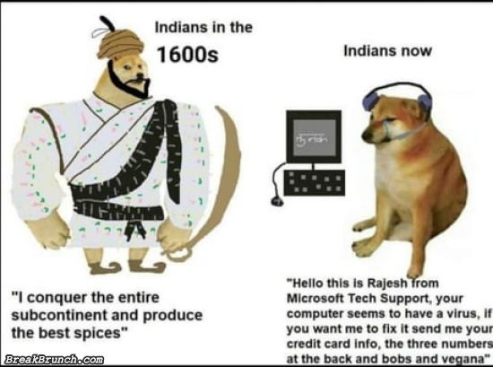 Indians now