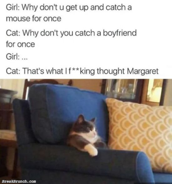 Show Margaret who is the boss