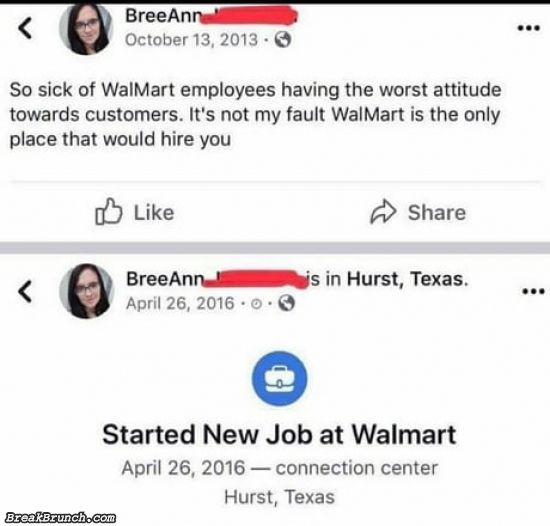 Will she get fired for this?