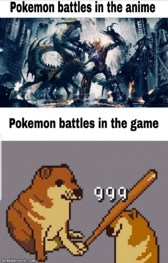 We need better pokemon battles