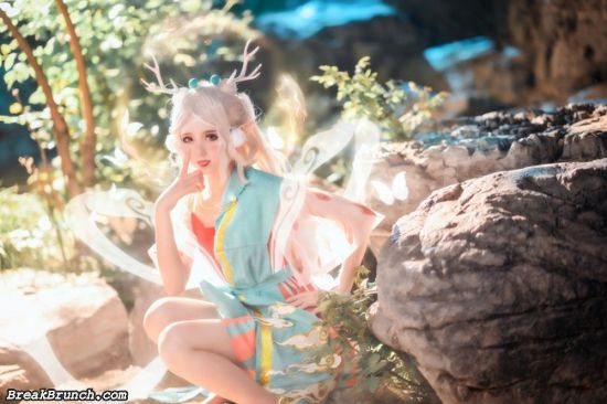 Cute Arena of Valor cosplay by akisoso (8 pics)