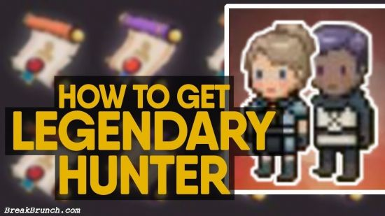 How to reroll and get best legendary hunter for free in Evil Hunter Tycoon