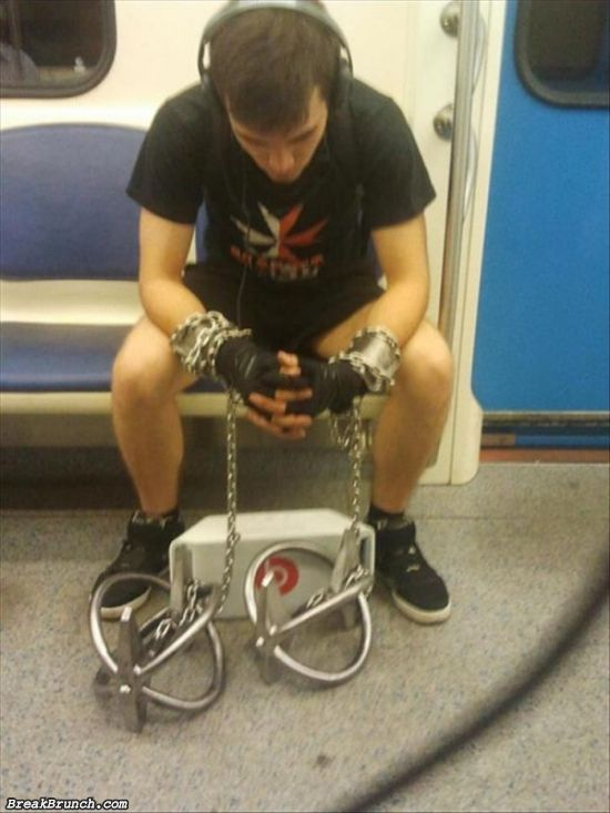 32 weird things people saw on subway
