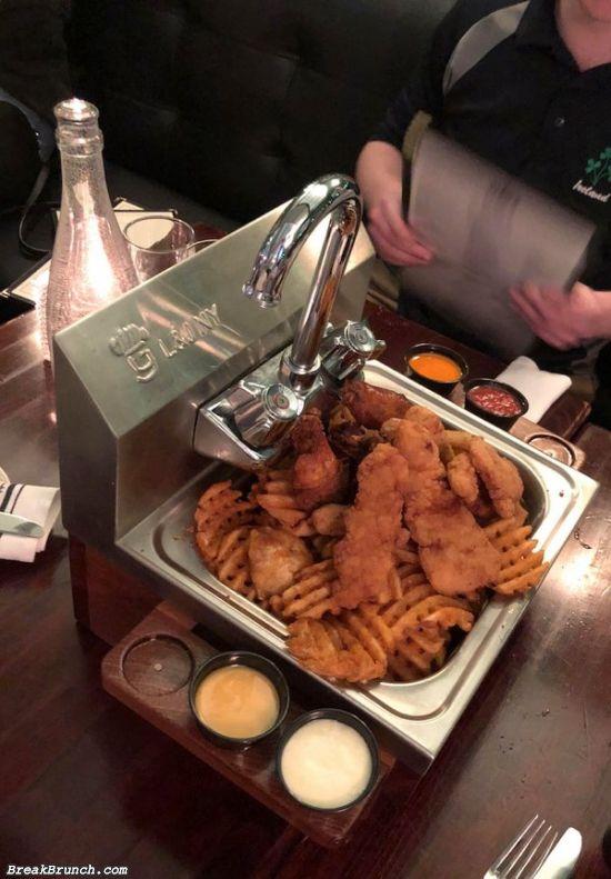 22 weird ways to server food restaurant