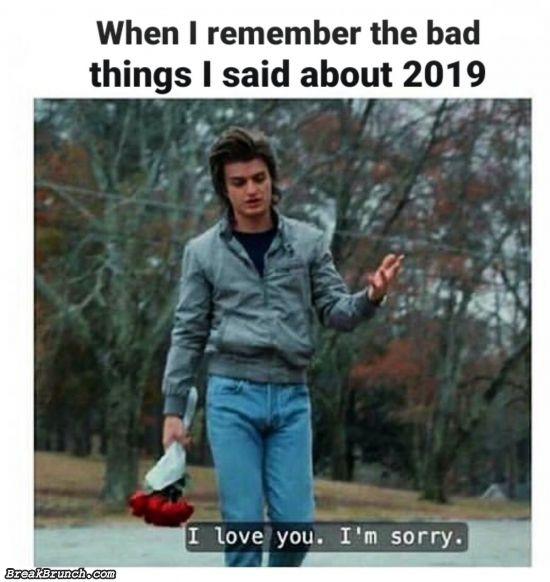 Sorry 2019