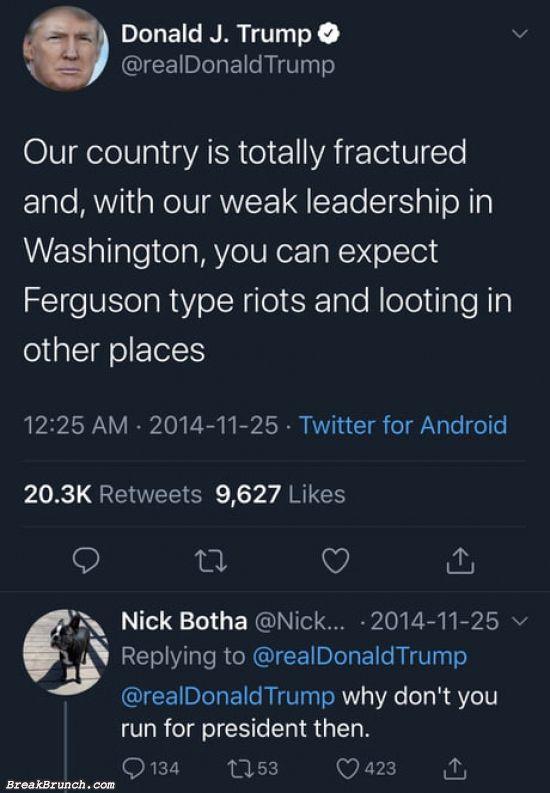 I blame Nick Botha