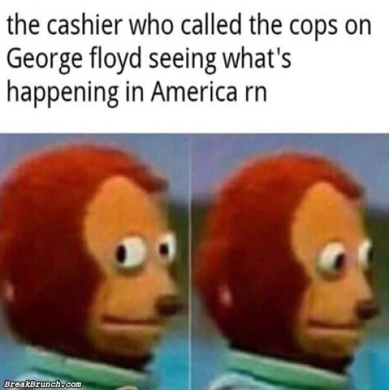 That cashier who called the cops on George Floyd