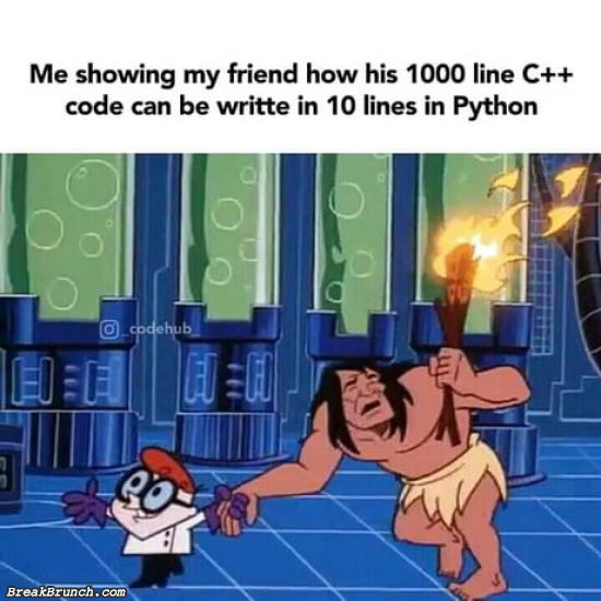 How to turn 100 line C++ into 10 lines in Python