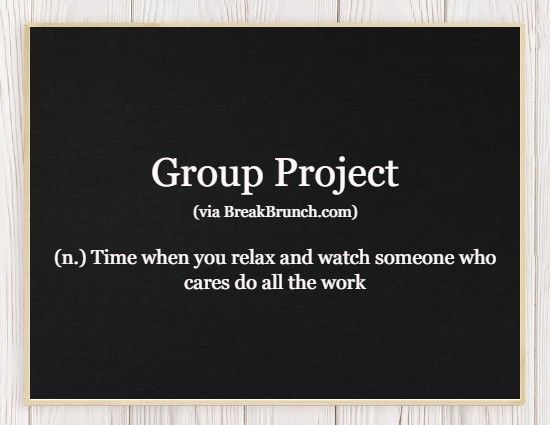 Hilarious Honest Dictionary – Group Project