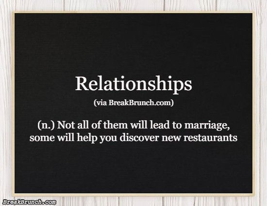 Hilarious Honest Dictionary – Relationships