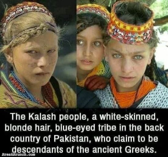 Kalash people in Pakistan