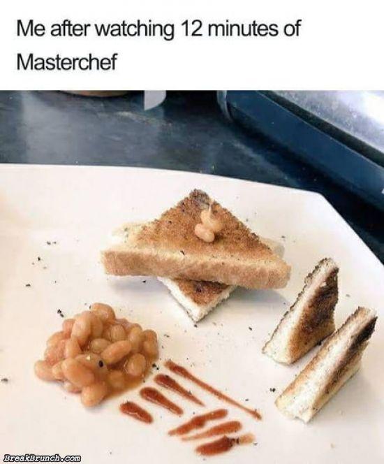 After watching Masterchef