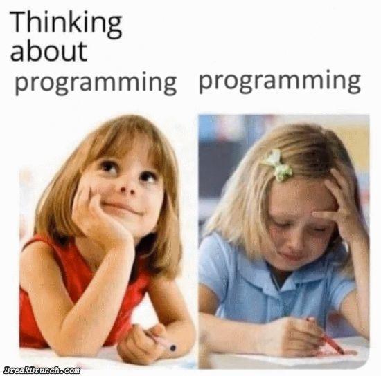 Doing actual programming