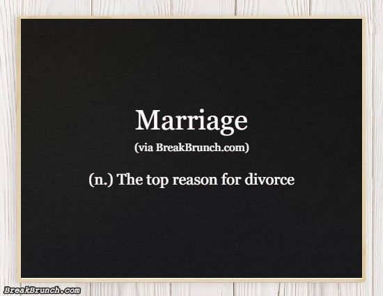 Honest Dictionary – Marriage