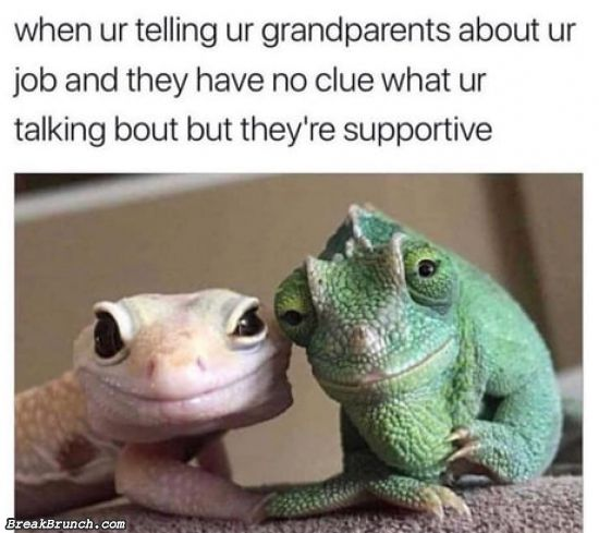When grandparents are supportive