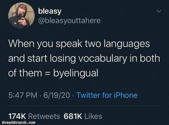 What is byelingual