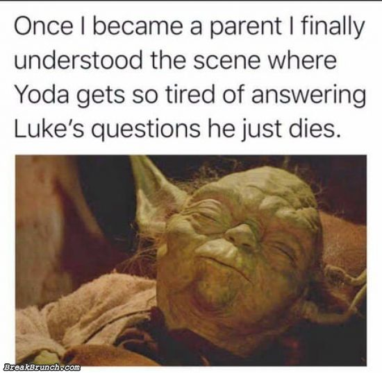 That parenting moment