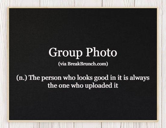 Hilarious Honest Dictionary – Group Photo