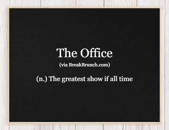 Hilarious Honest Dictionary – The Office