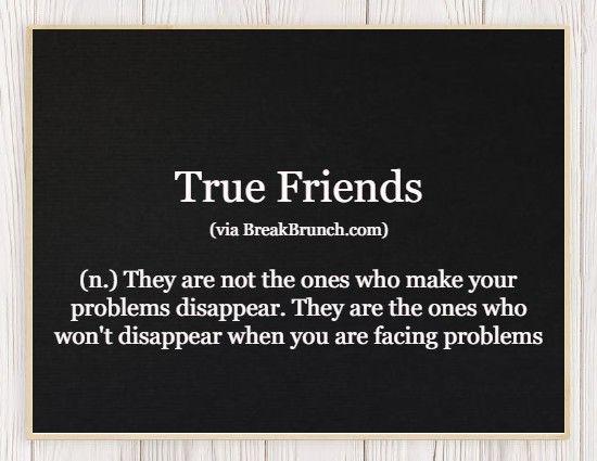 Hilarious Honest Dictionary – True Friends