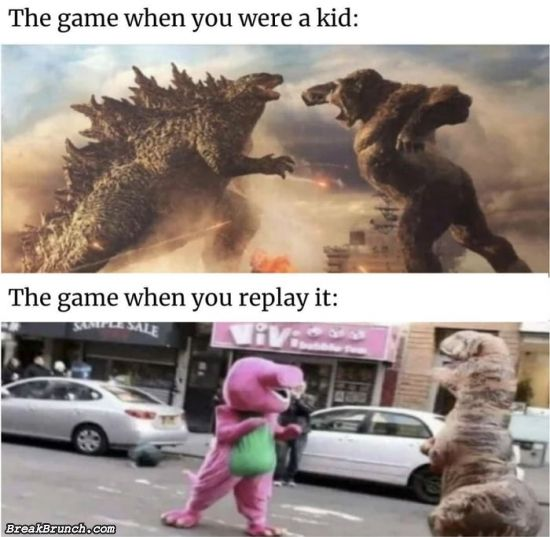 I missed playing game