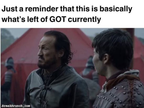 What is left of GoT