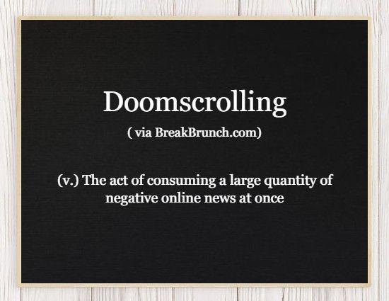 Honest Dictionary – Doomscrolling