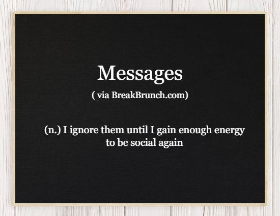 Honest Dictionary – Messages