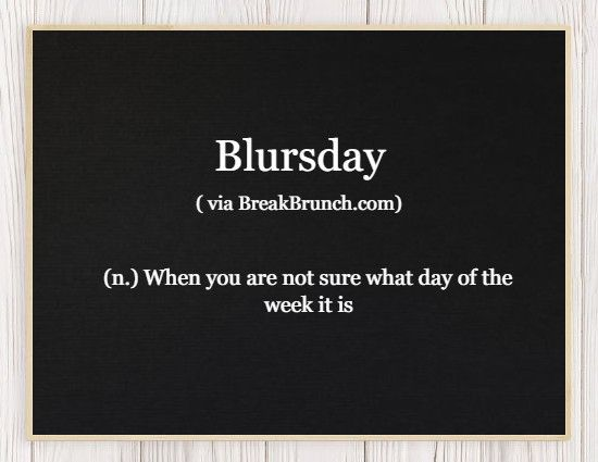 Honest Dictionary – Blursday