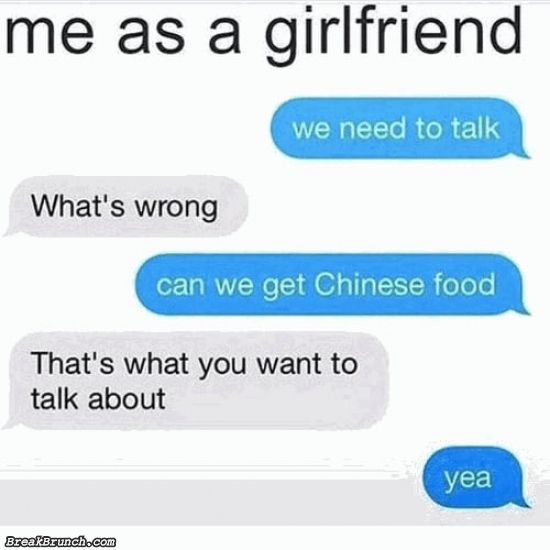 I want this kind of girlfriend