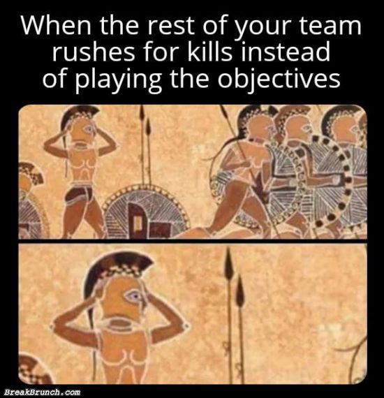 Play the objectives