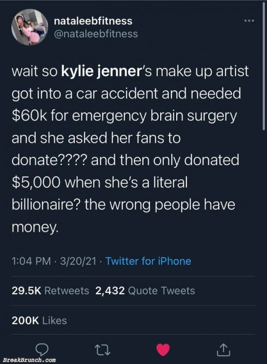 Wrong people have money