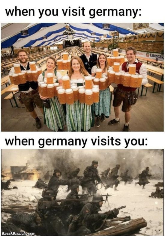 When you visit Germany